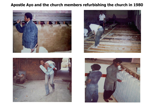 Church Refurbishment in 1980